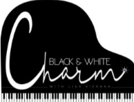 Black and White Charm Logo Thumbnail